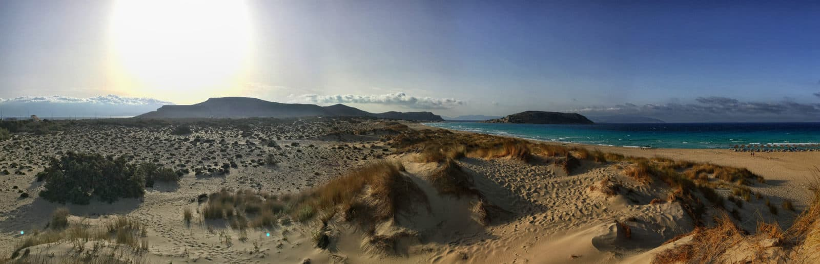 Elafonisos Asami Beach im September